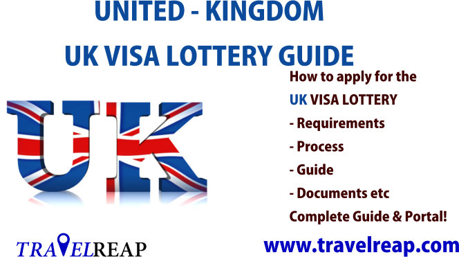 UK Visa Lottery Application Form, Guide & Requirements
