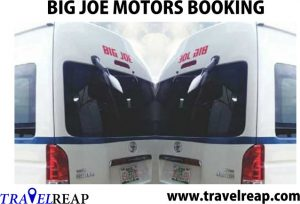 Big Joe Motors Transport Online Booking, Prices List & Parks