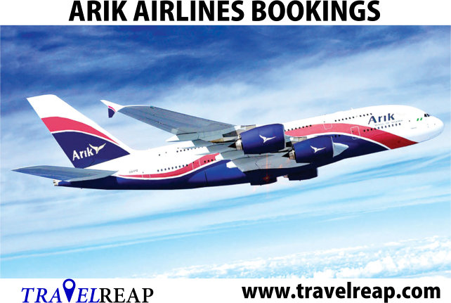 Fly Arik Airlines Bookings Flight Ticket Prices in Nigeria
