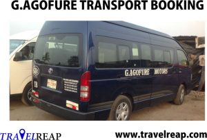G.agofure Motors Transport Online Booking, Prices Lists, Parks